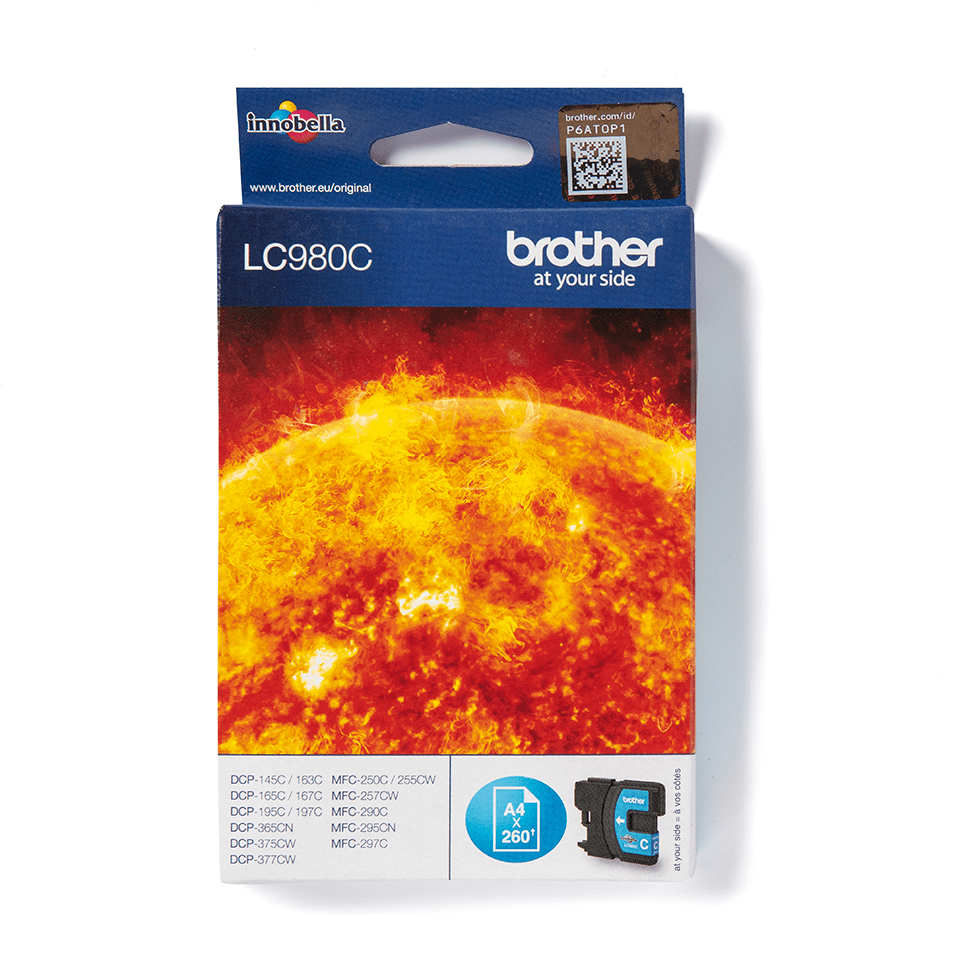 Brother LC980C Cartucca inkjet originale - ciano 0