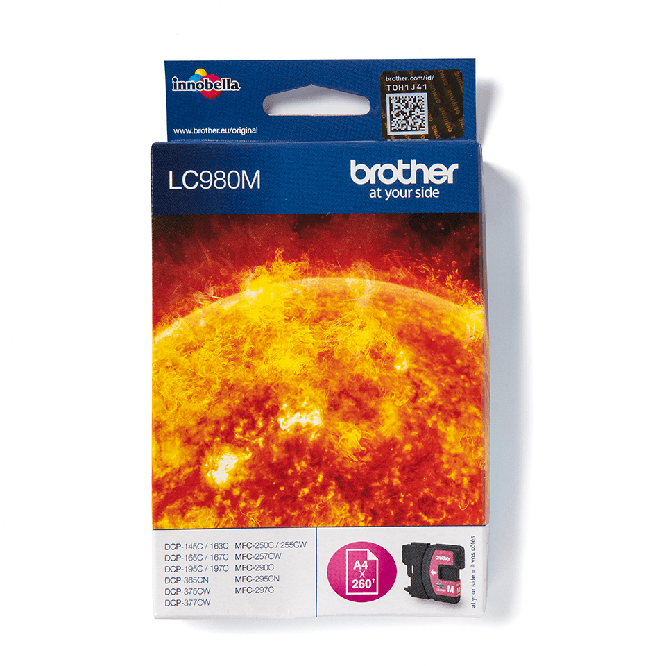 Brother LC980M Cartucca inkjet originale - magenta