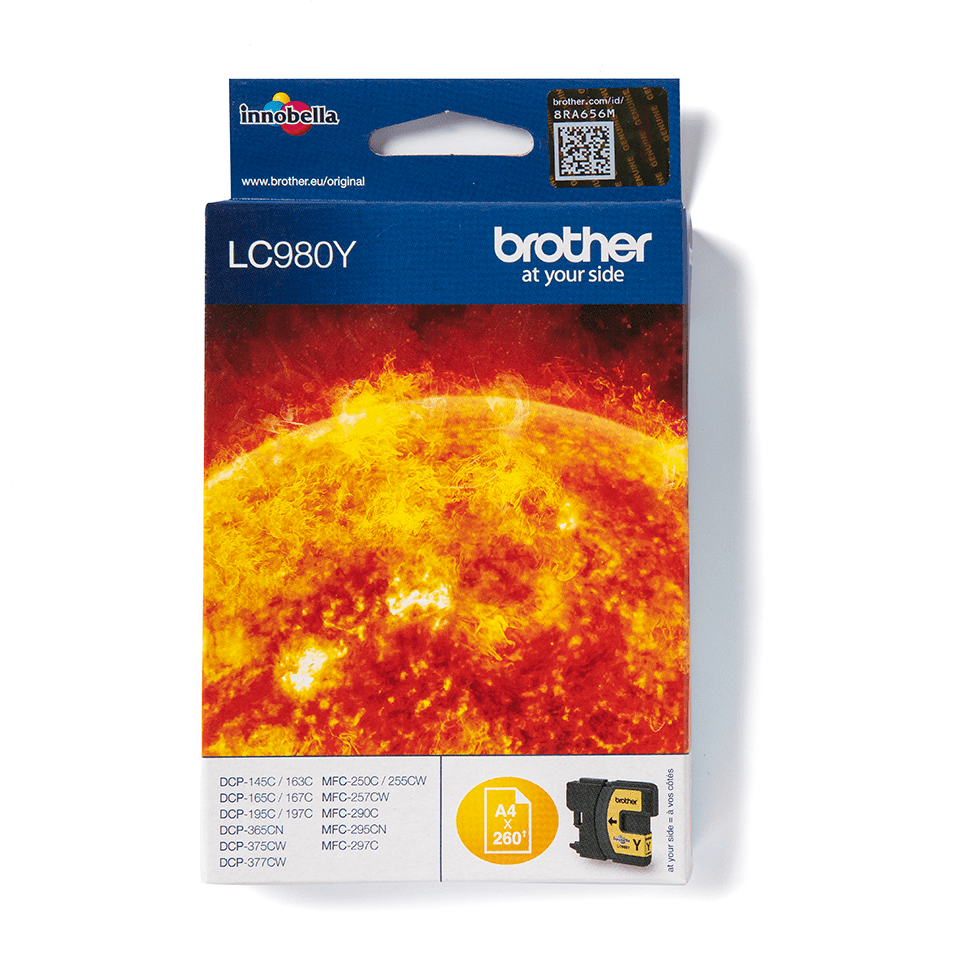 Brother LC980Y Cartucca inkjet originale - giallo 0