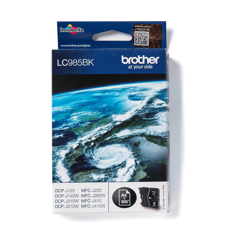 Brother LC985BK Cartucca inkjet originale - nero