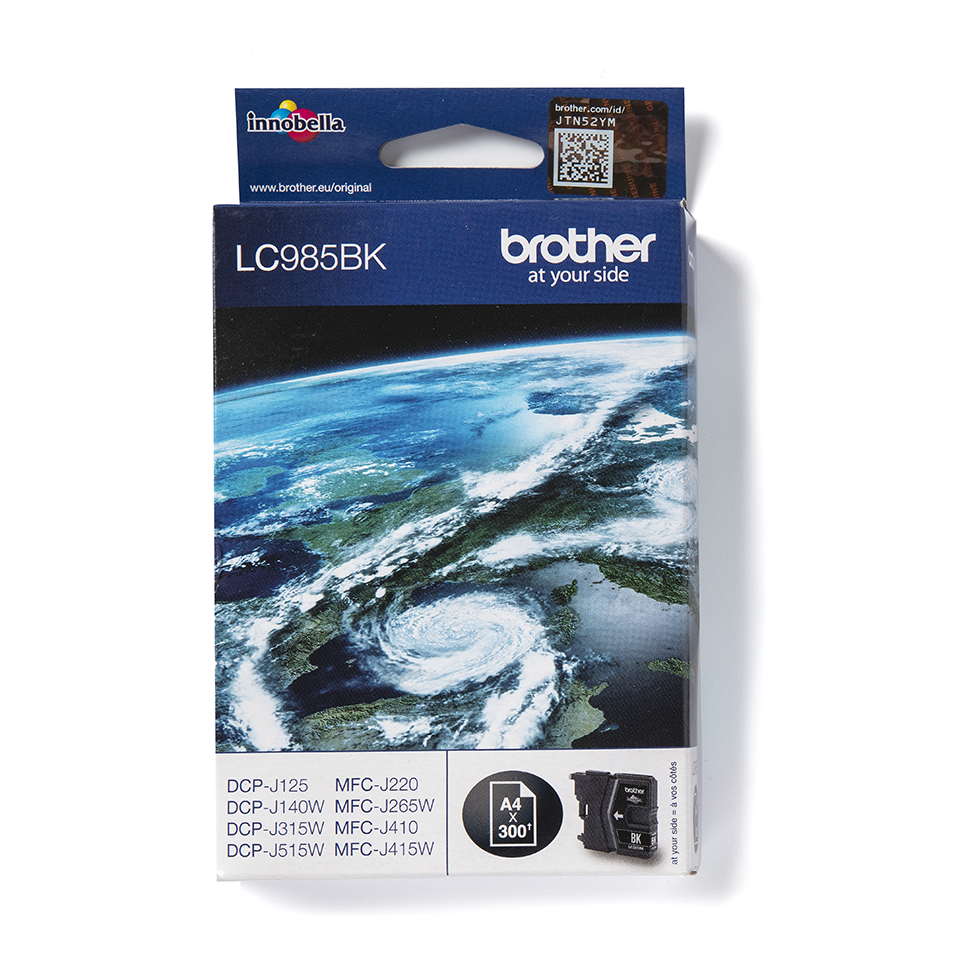 Brother LC985BK Cartucca inkjet originale - nero