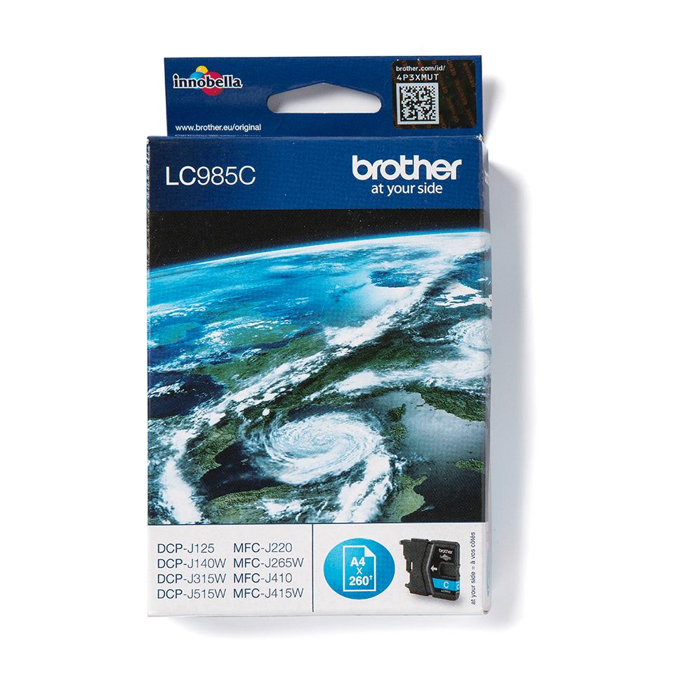 Brother LC985C Cartuccia inkjet originale - ciano