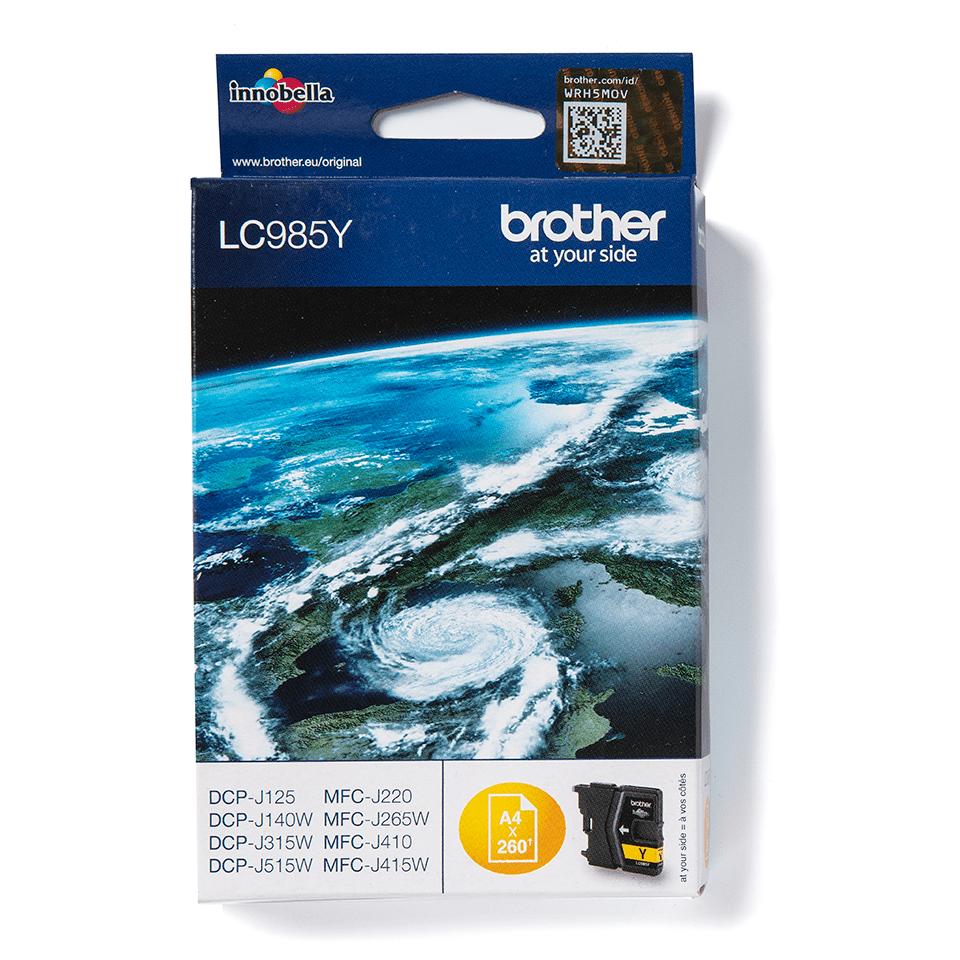 Brother LC985Y Cartuccia inkjet originale - giallo