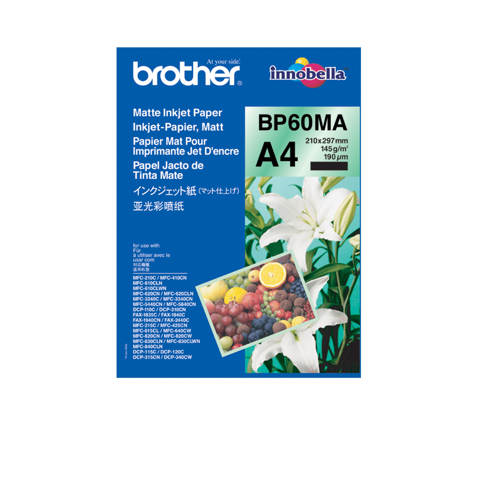 Brother BP60MA Carta originale opaca formato A4