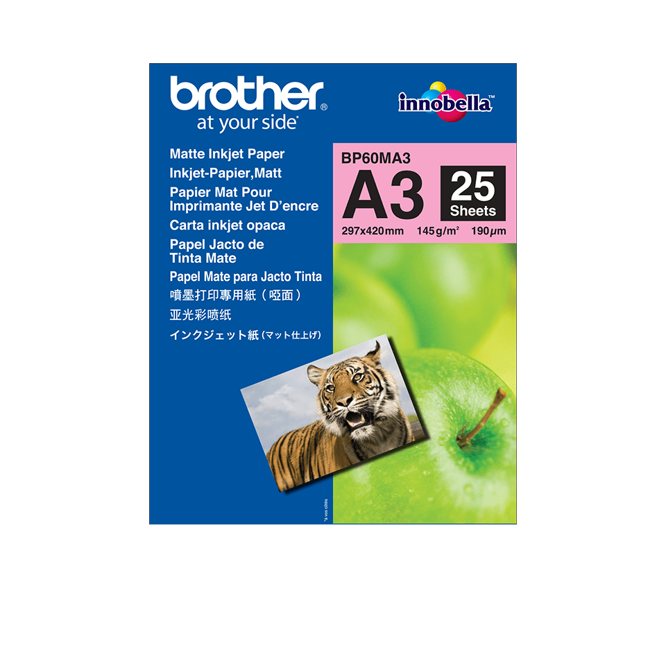 Brother BP60MA3 Carta fotografica opaca A3 originale