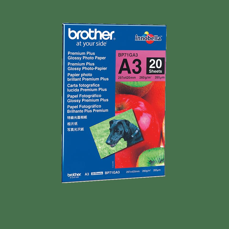 Brother BP-71GA3 Carta fotografica patinata originale formato A3