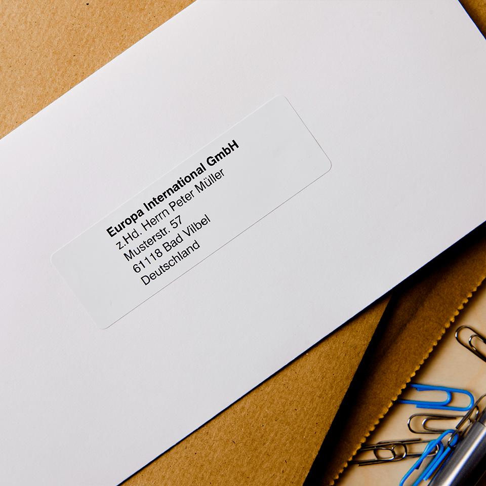 Rotolo di etichette originale Brother DK-11201 – Nero su bianco, 29 mm x 90 mm 2