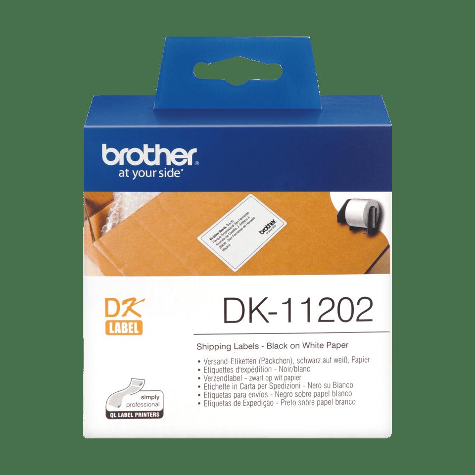 Brother DK-11202 Etichette per spedizioni originali, 62 x 100 mm 0