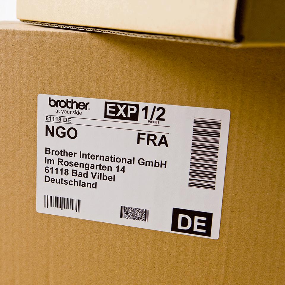 Brother DK-11202 Etichette per spedizioni originali, 62 x 100 mm 2