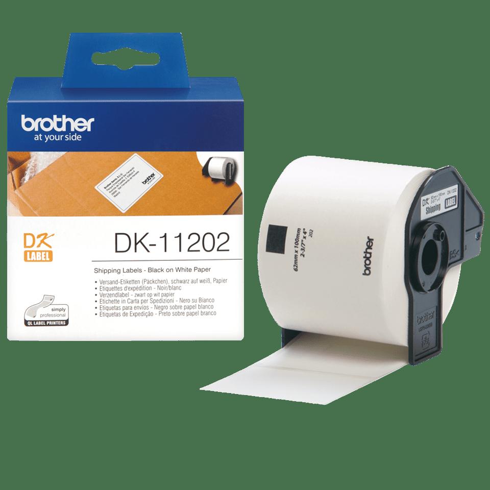 Brother DK-11202 Etichette per spedizioni originali, 62 x 100 mm 3