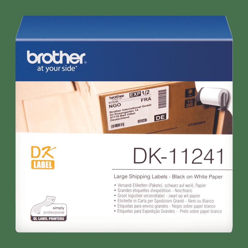 Brother DK-11241 Etichette originali grandi per spedizioni, 102 x 152 mm