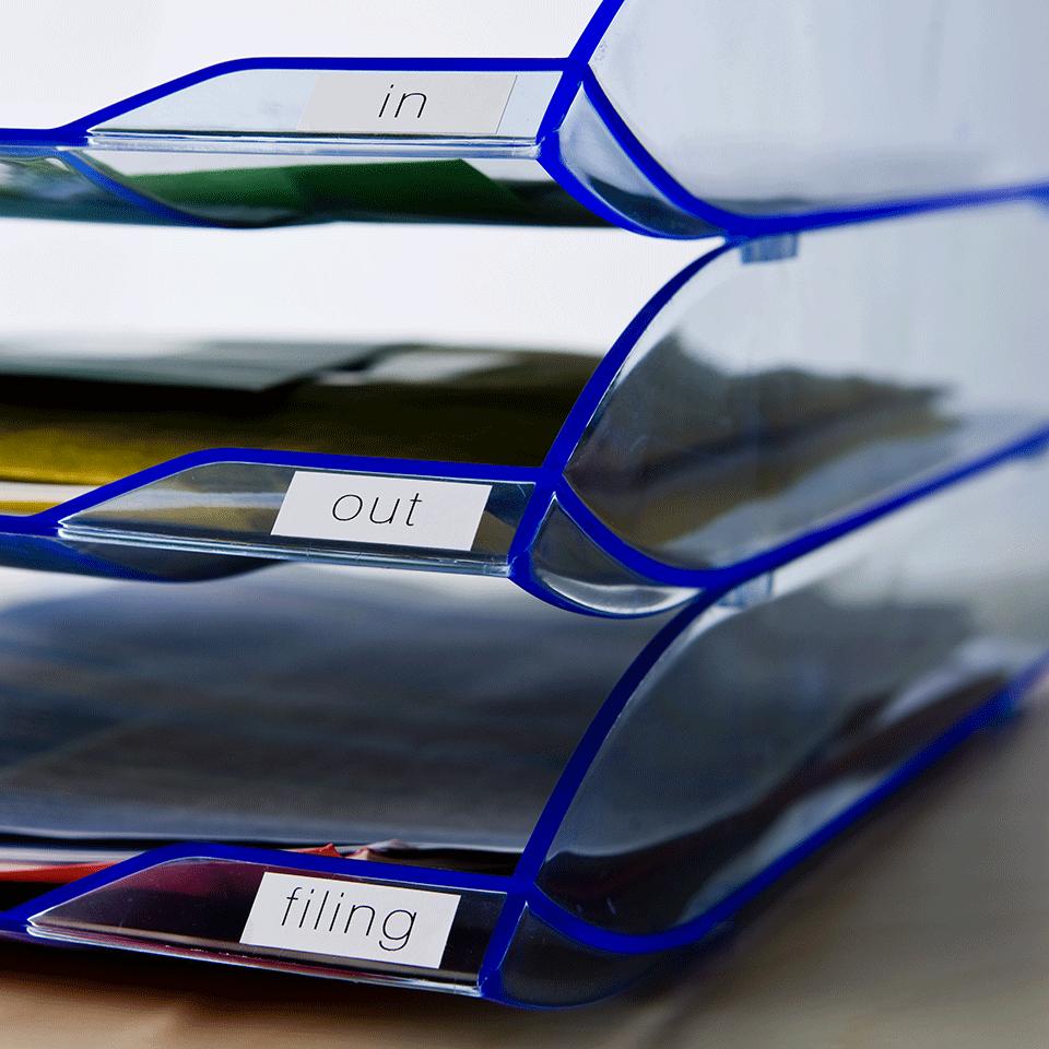 Brother DK-22214 Etichette originali, 12 mm - nero su bianco 2
