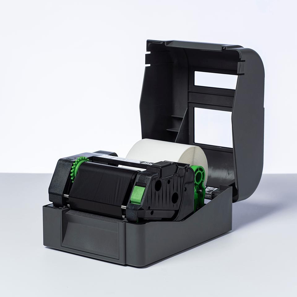 Nastro nero a trasferimento termico a base resina standard BRS-1D300-110 2