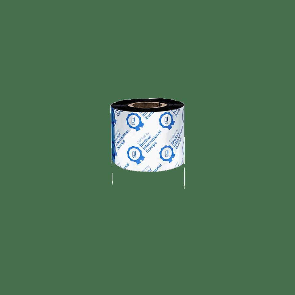 Nastro nero a trasferimento termico a base cera/resina standard BSS-1D300-060 3