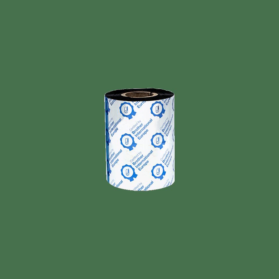 Nastro d'inchiostro nero a trasferimento termico a base cera/resina standard BSS-1D300-080 3
