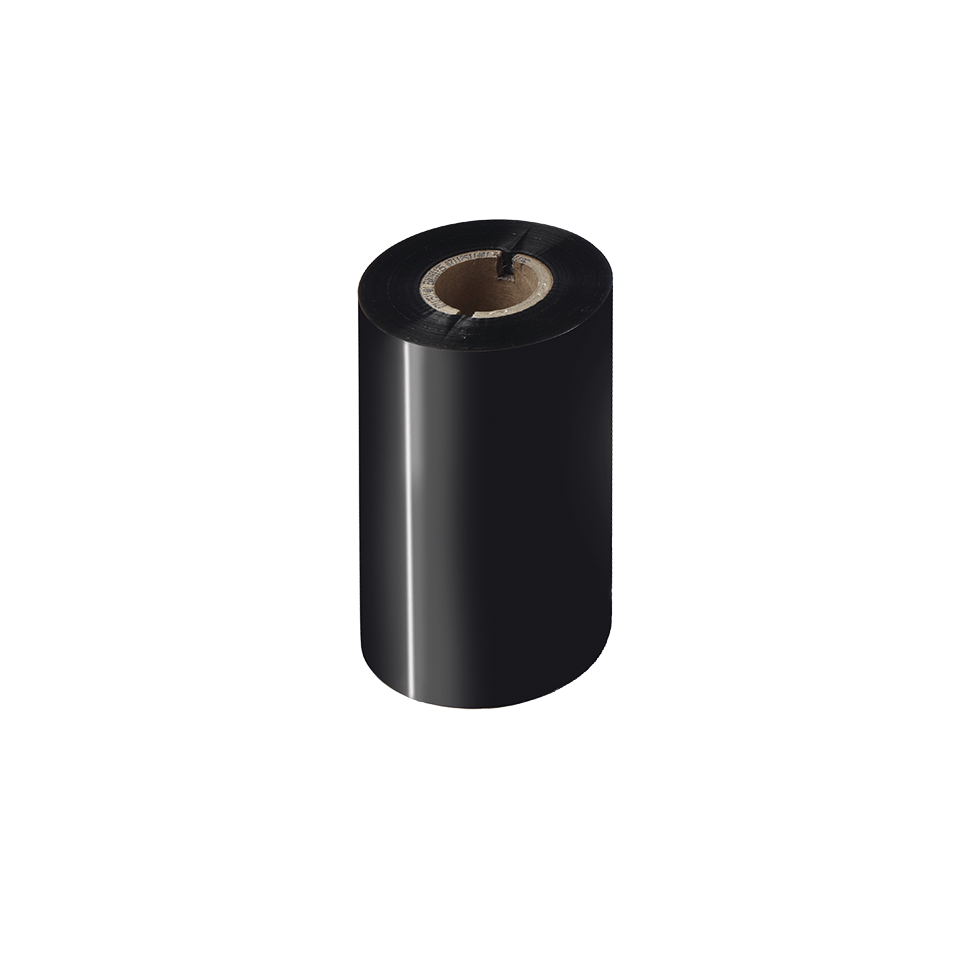 Nastro nero a trasferimento termico a base cera/resina standard BSS-1D300-110
