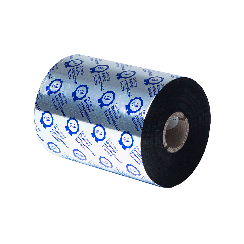 Premium Resin Thermal Transfer Black Ink Ribbon BRP-1D600-110 3