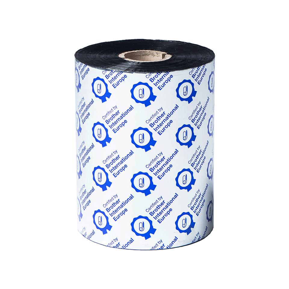 Standard Wax Thermal Transfer Black Ink Ribbon BWS-1D600-110 2