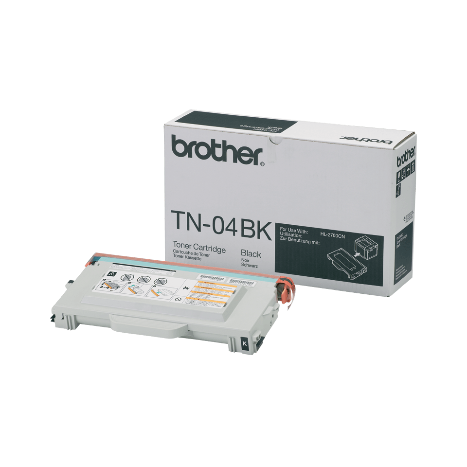 Brother TN-04BK Toner originale - nero