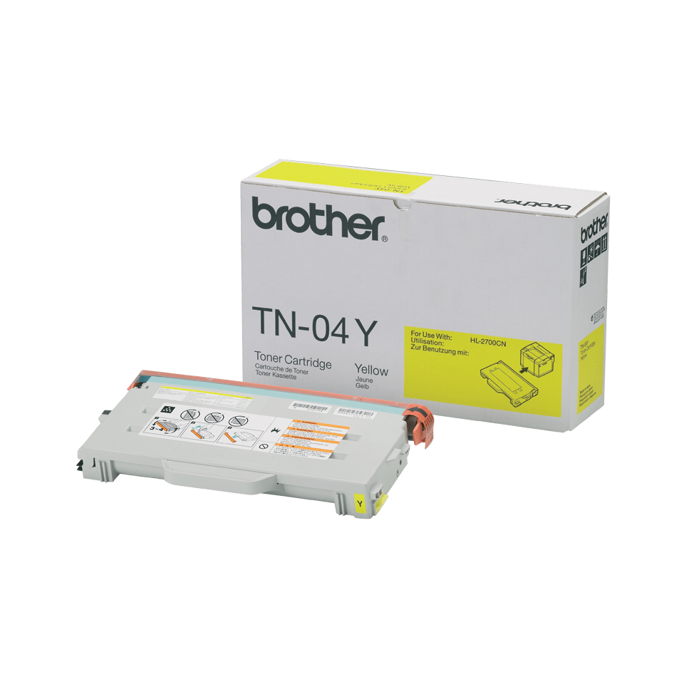 Brother TN04Y Toner originale - giallo