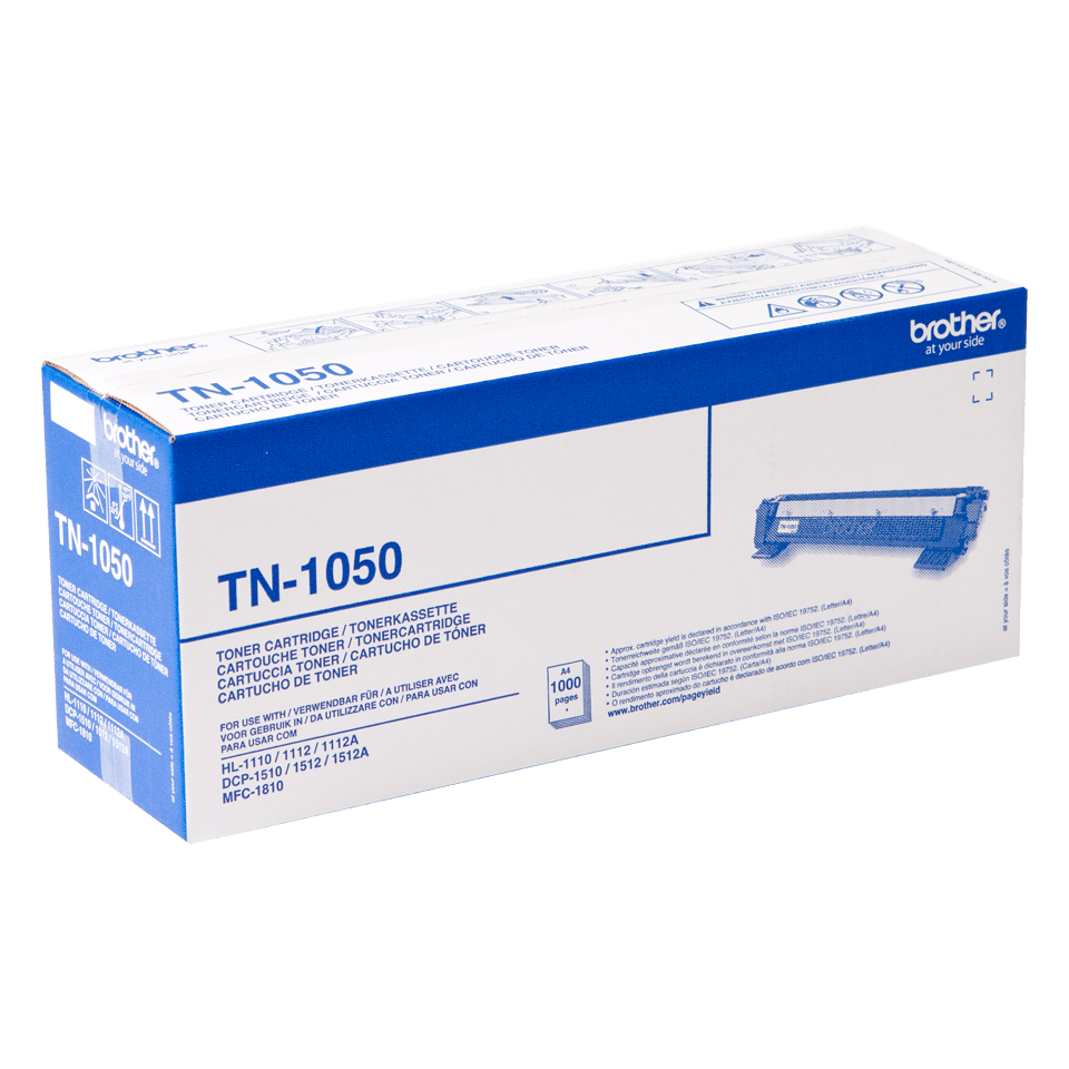 Brother TN-1050 Toner originale - Nero 6