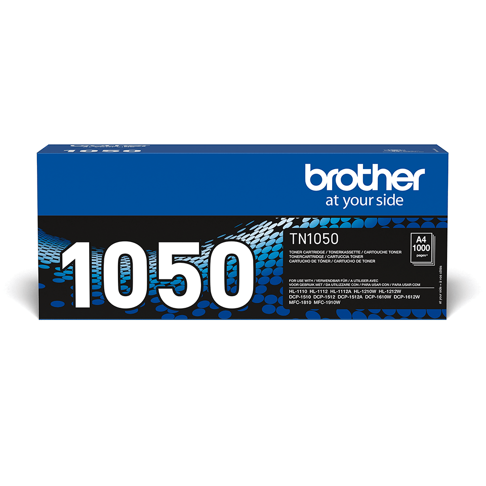 Brother TN-1050 Toner originale - Nero