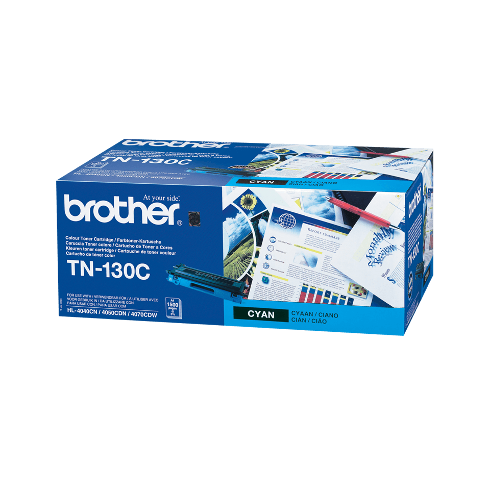 Cartuccia di toner originale Brother TN-130C – Ciano