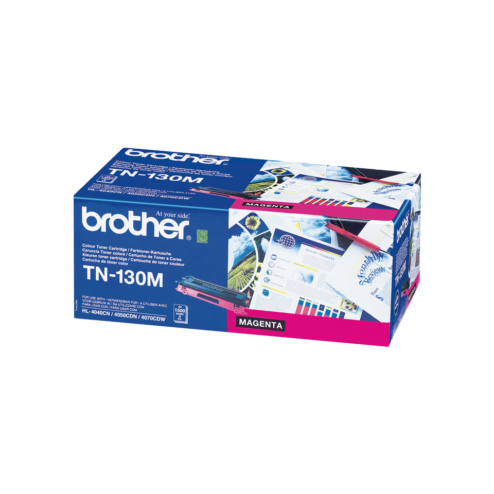Cartuccia di toner originale Brother TN-130M – Magenta