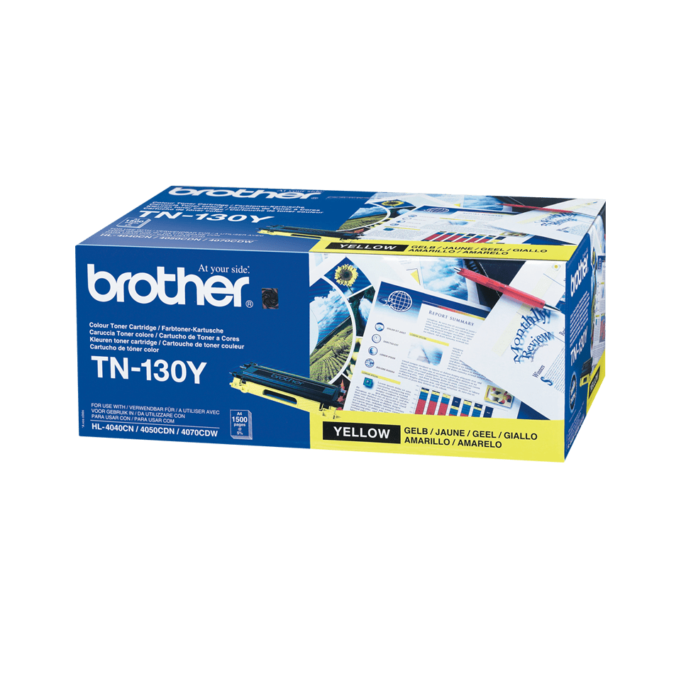 Cartuccia di toner originale Brother TN-130Y – Giallo 0