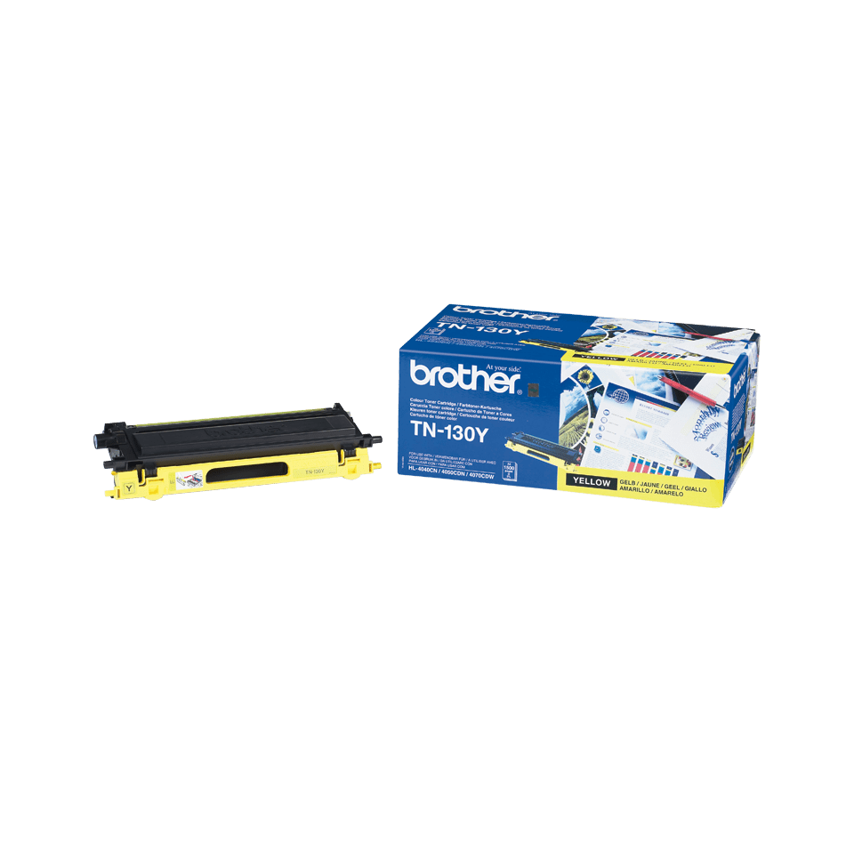 Cartuccia di toner originale Brother TN-130Y – Giallo 1