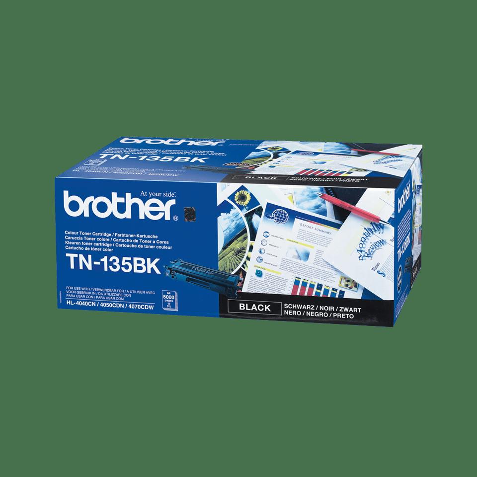 Brother TN-135BK Toner originale ad alta capacità - nero