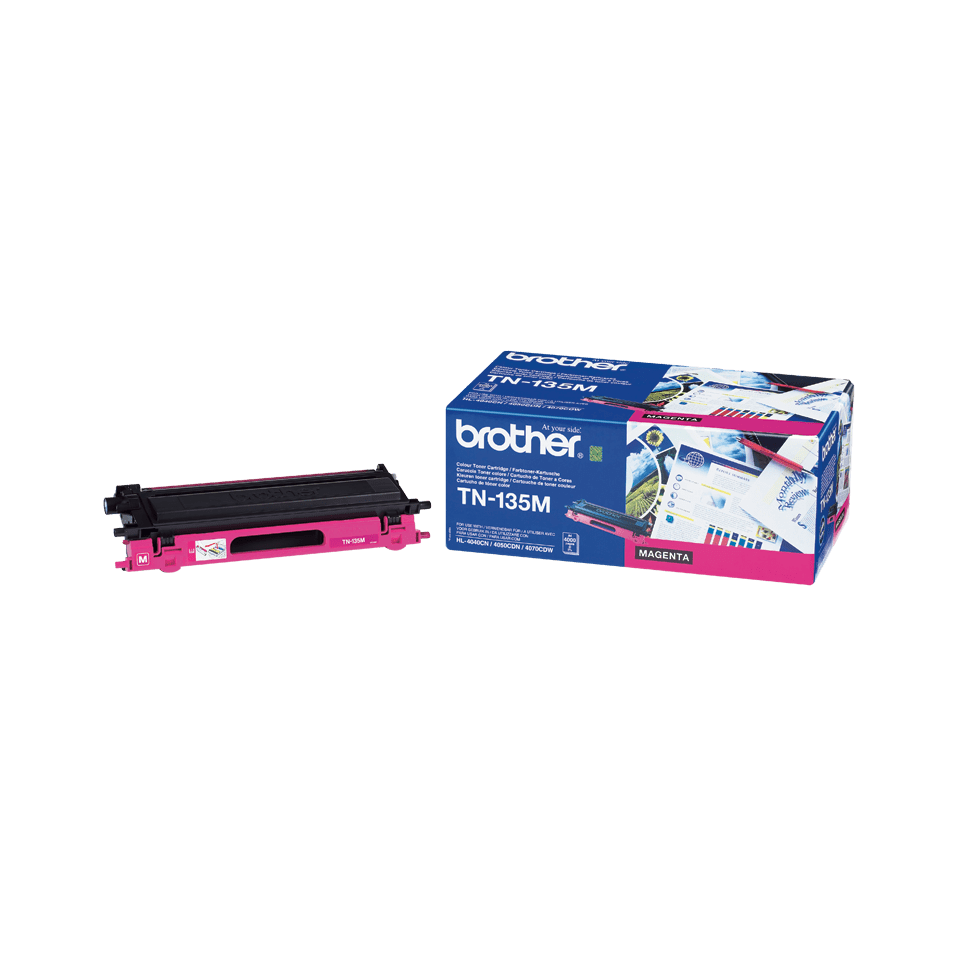 Cartuccia di toner ad alto rendimento originale Brother TN-135M – Magenta