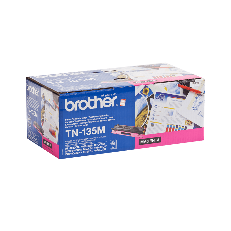 Cartuccia di toner ad alto rendimento originale Brother TN-135M – Magenta 2