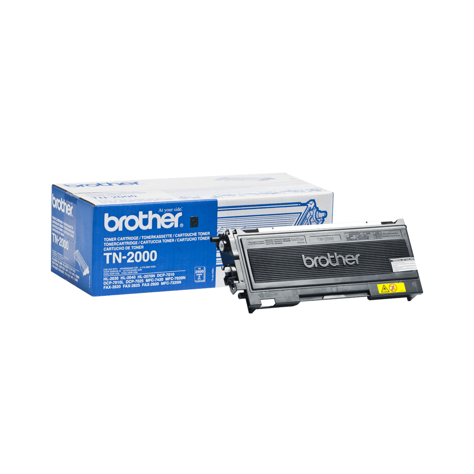 Cartuccia di toner ad alto rendimento originale Brother TN-2000 - nero
