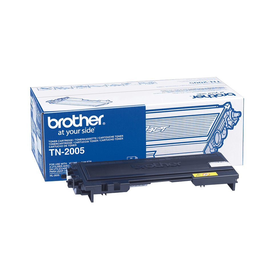 Cartuccia di toner originale Brother TN-2005 – Nero