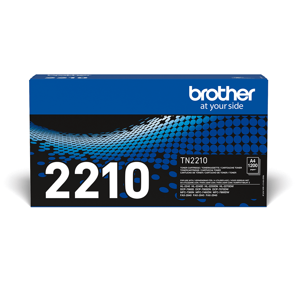 Brother TN-2210 Toner standard - nero 2