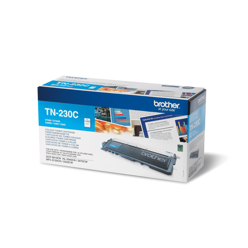 Brother TN-230C Toner originale - ciano 0