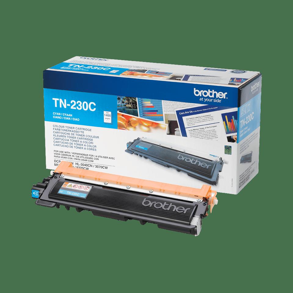 Brother TN-230C Toner originale - ciano
