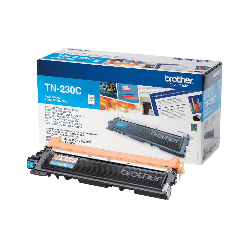 Brother TN-230C Toner originale - ciano 2