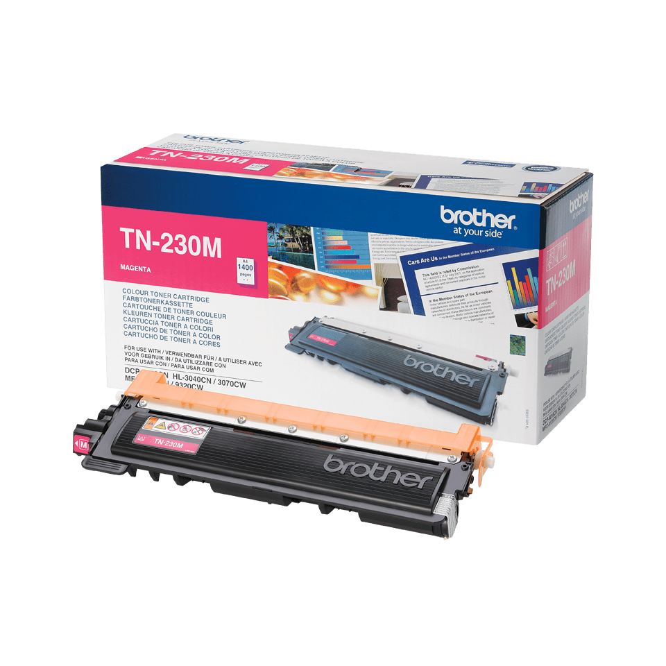 Brother TN-230M Toner originale – Magenta