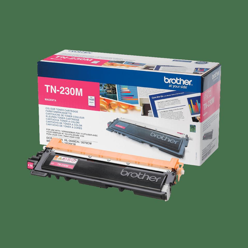 Brother TN-230M Toner originale – Magenta