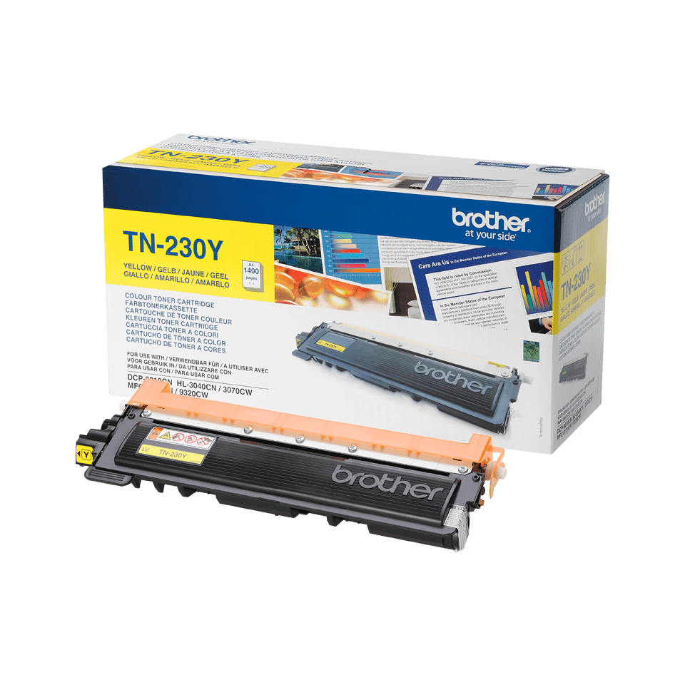 Brother TN-230Y Toner originale - Giallo 2