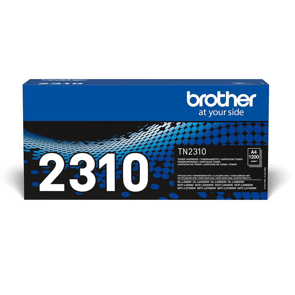 Brother TN-2310 Toner standard originale - nero 0
