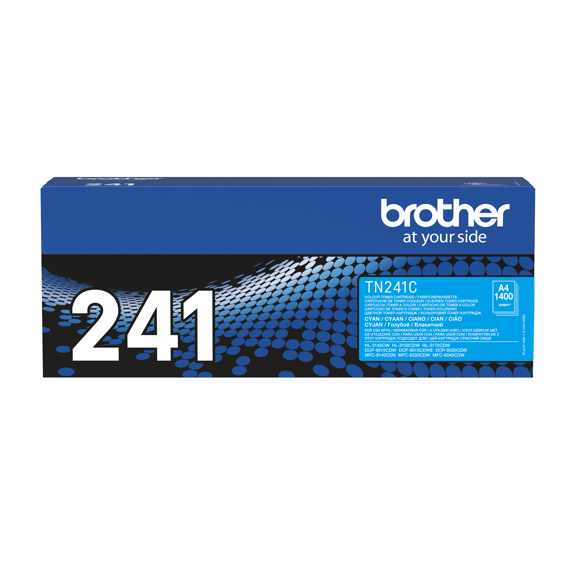 Brother TN-241C Toner standard originale - ciano