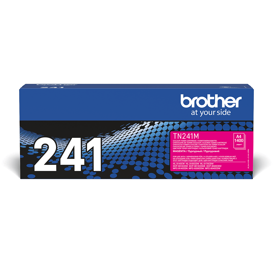 Brother TN-241M Toner standard originale - magenta