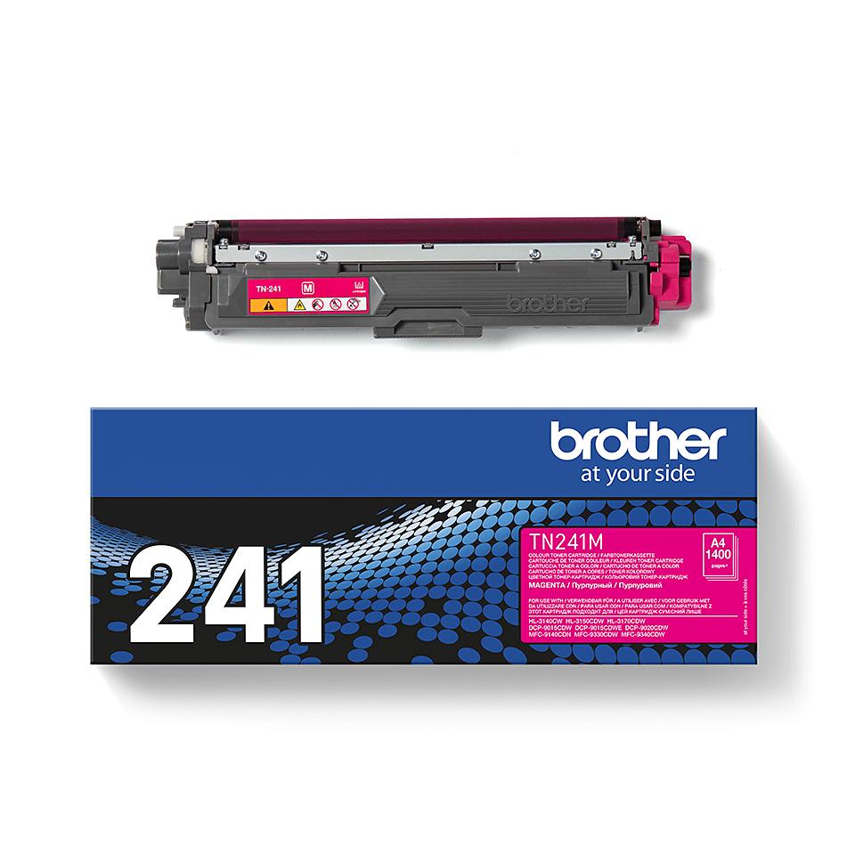 Brother TN-241M Toner standard originale - magenta 2