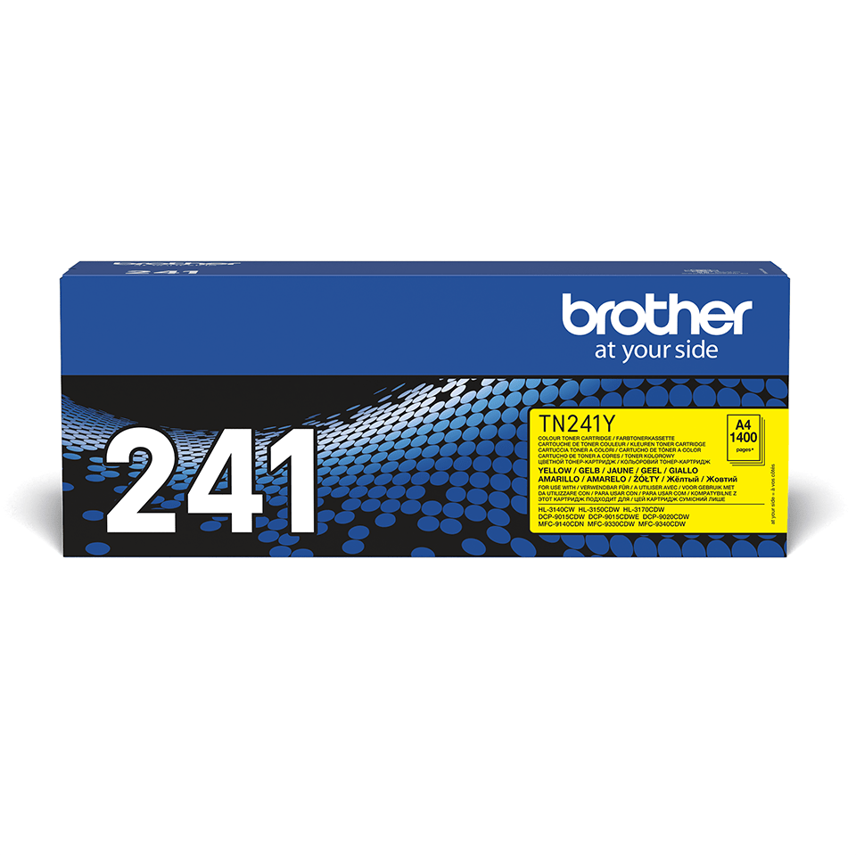 Brother TN-241Y Toner standard originale - giallo