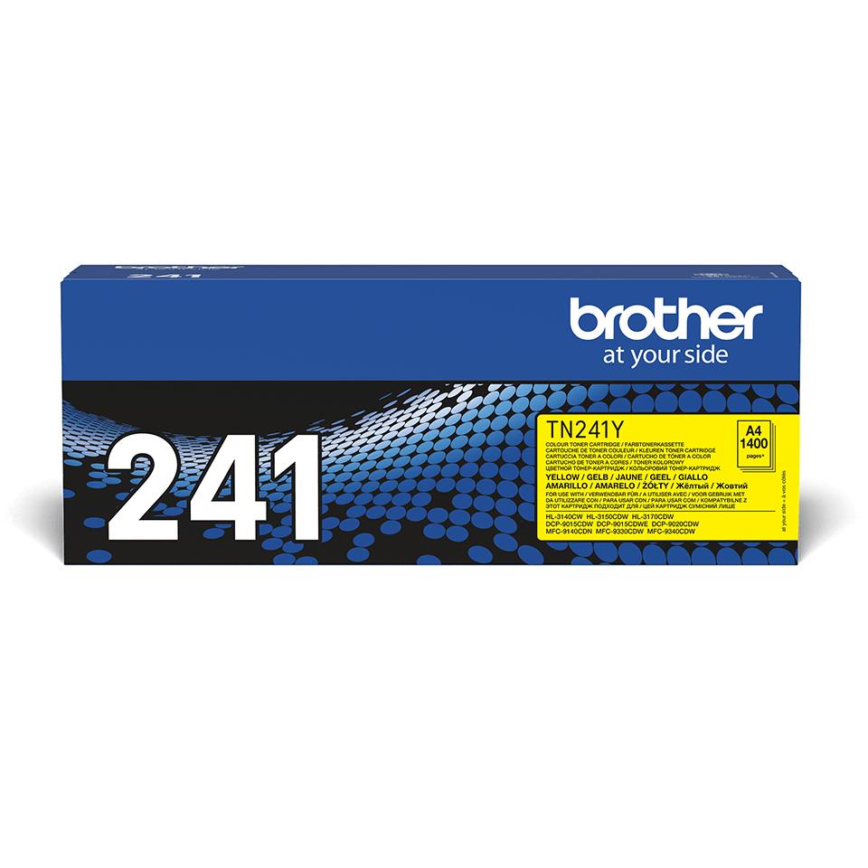 Brother TN-241Y Toner standard originale - giallo