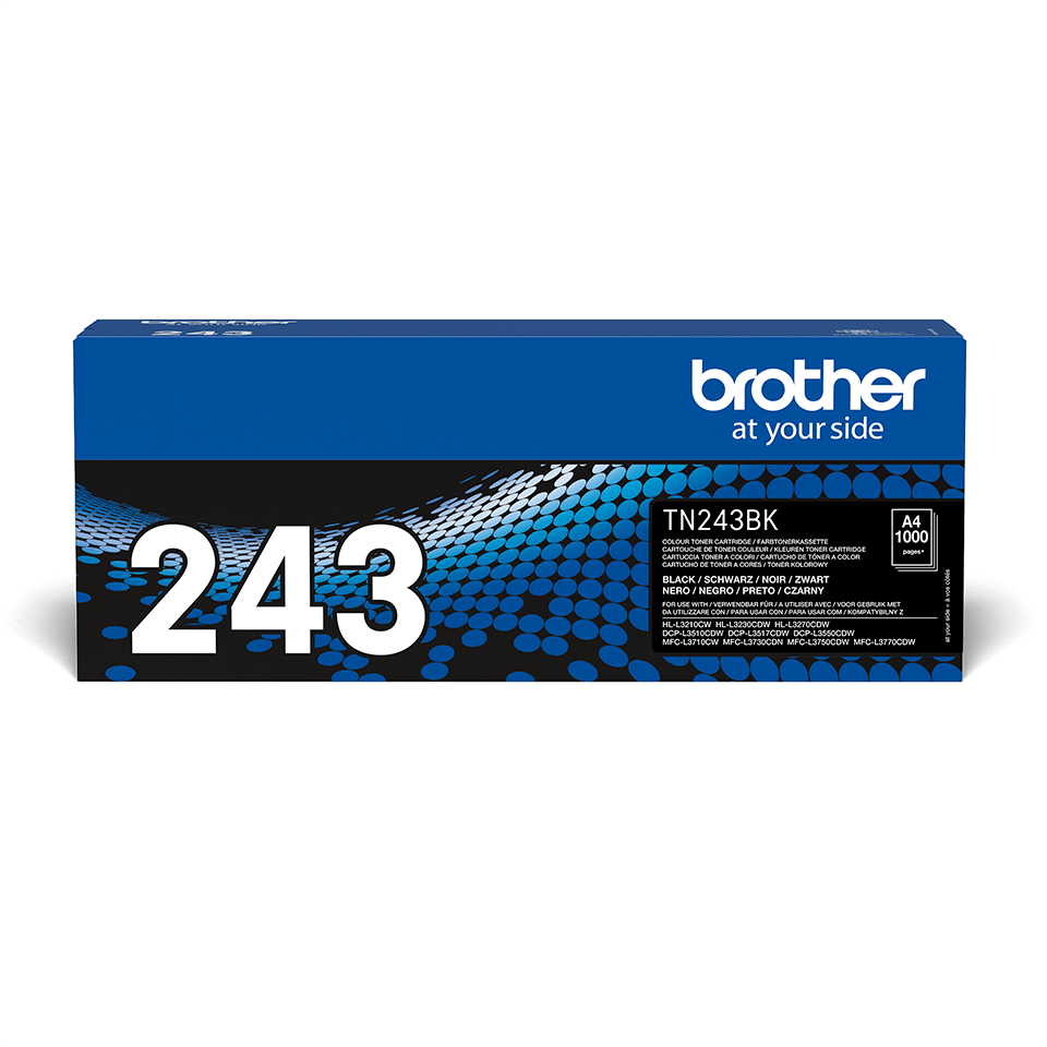 Brother TN-243BK Toner originale - Nero