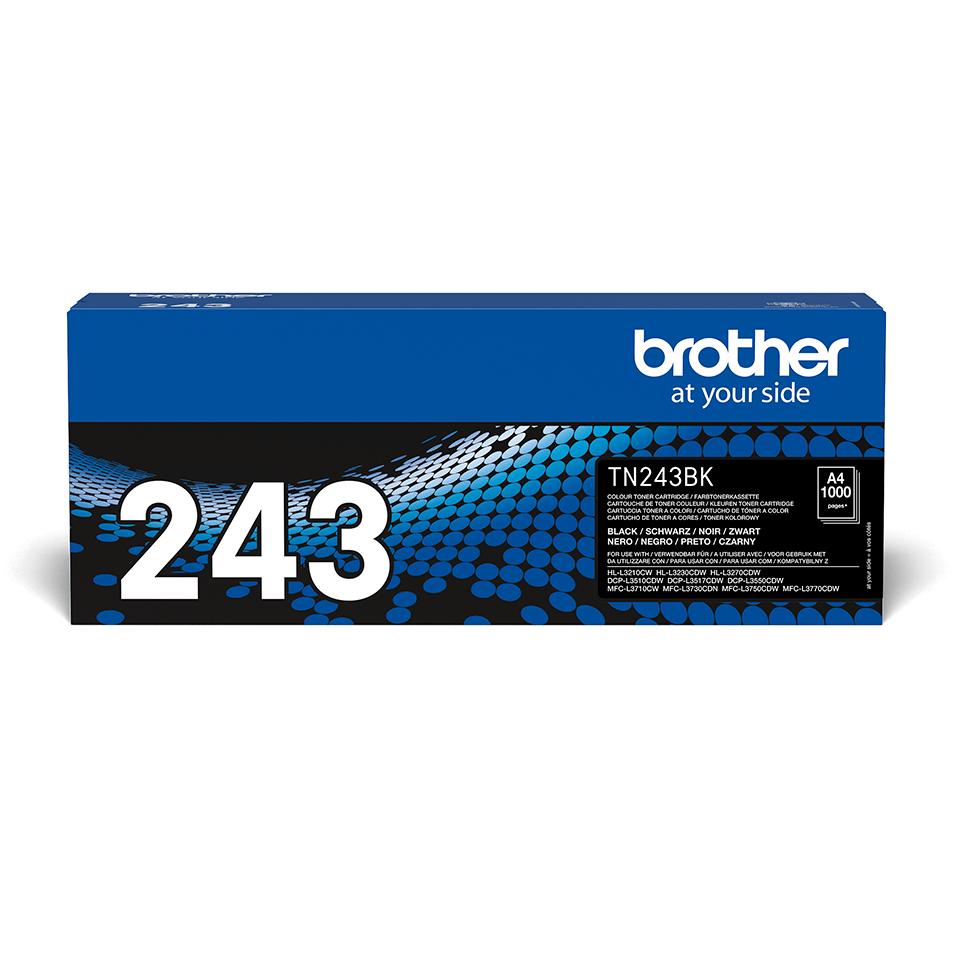 Brother TN-243BK Toner originale - Nero